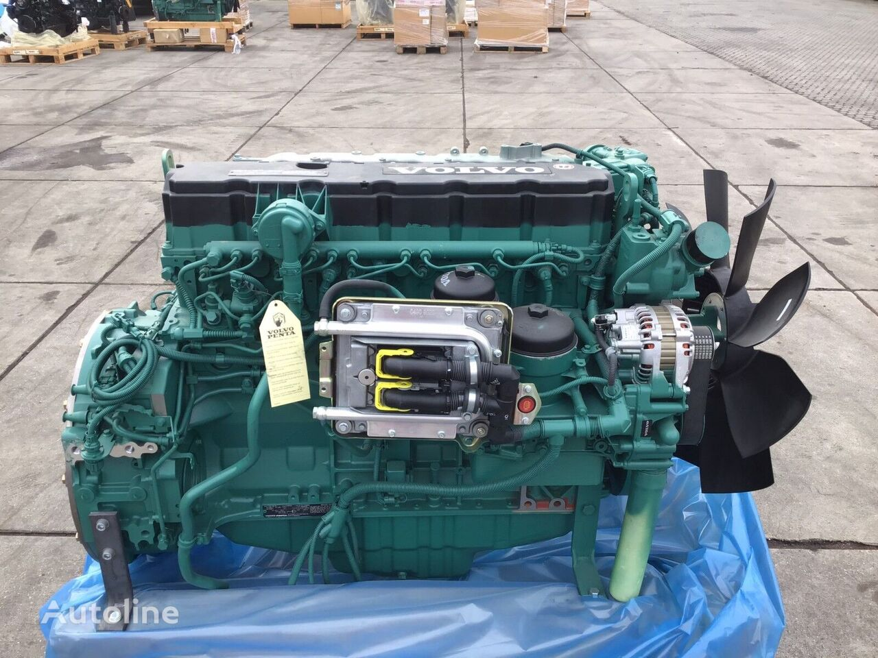 VOLVO TAD 762VE NEW engine for truck