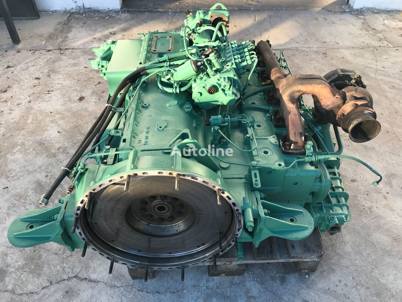 VOLVO THD / DH Used or Rebuild engine for VOLVO BUS bus