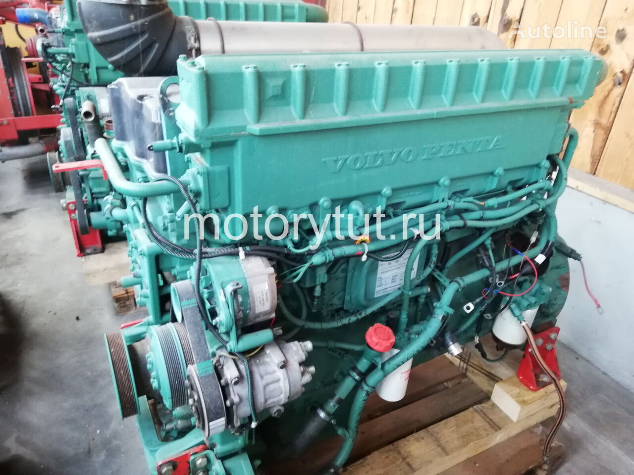VOLVO TWD1240 VE engine for other generator