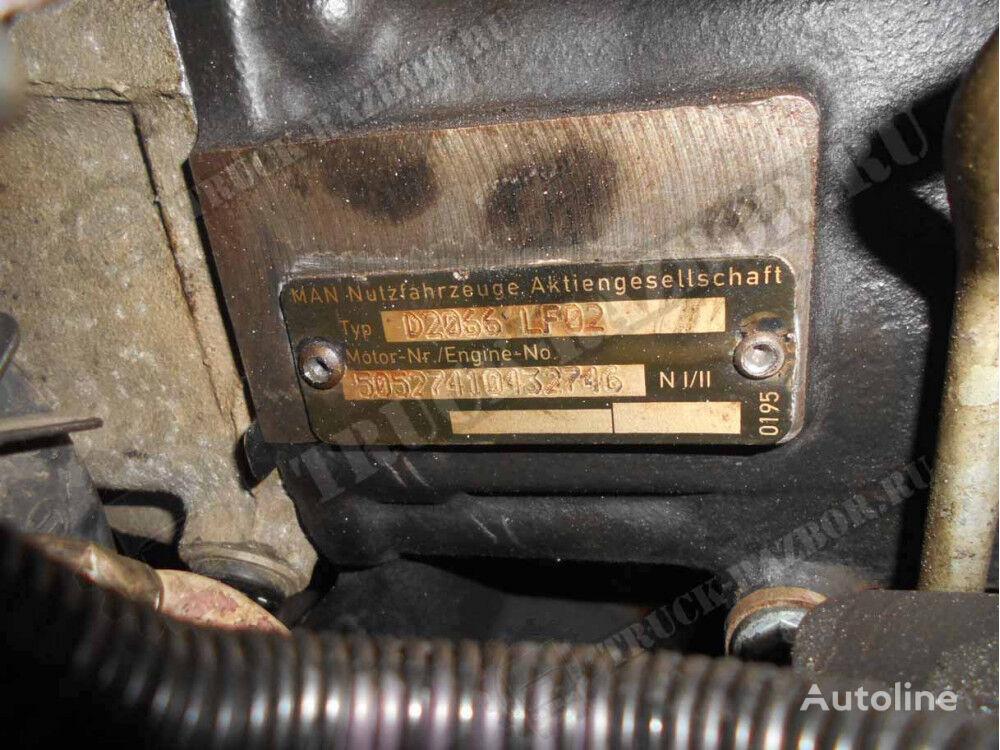 DVS v sbore engine for MAN tractor unit