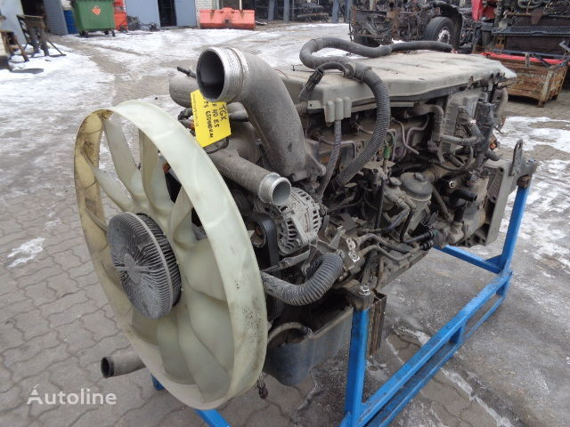 from fully working truck !!! FT engine for MAN TGX tractor unit
