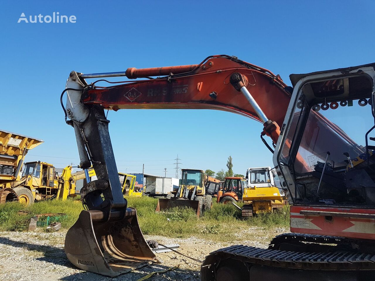 excavator boom for O&K RH9 excavator