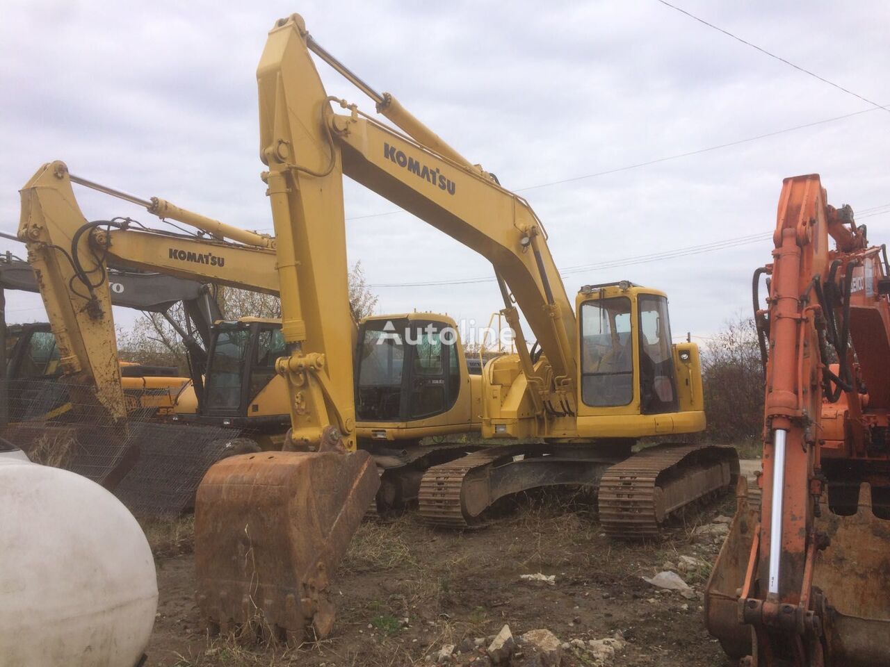 KOMATSU PC 228 All Parts excavator boom for excavator