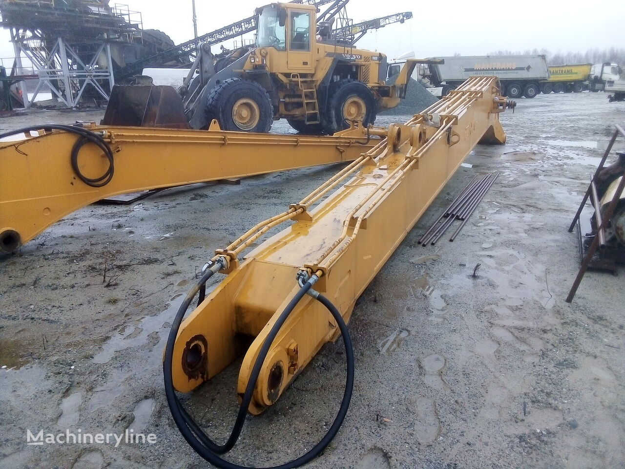 new long excavator boom for excavator