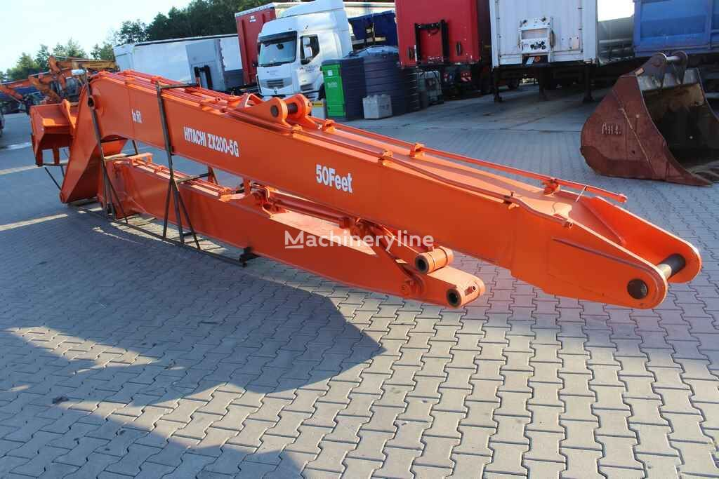 new long reach boom 50' - 15 m excavator boom for trencher