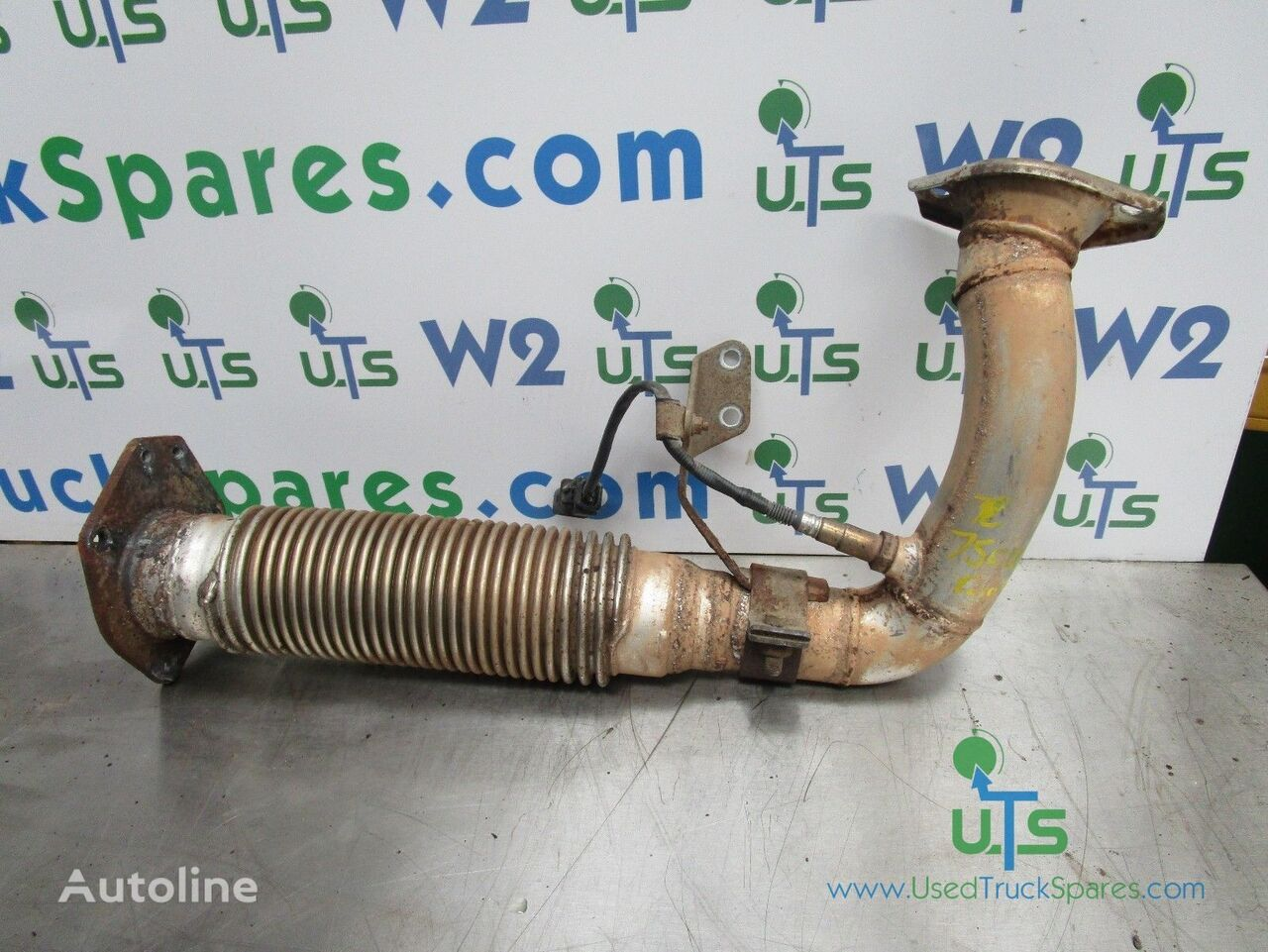 FRONT AND SENSOR exhaust pipe for Mitsubishi Fuso 75C truck