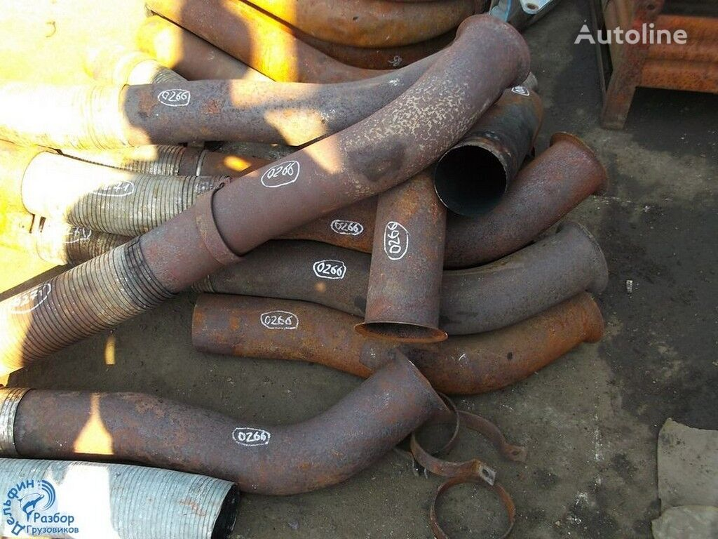 Truba glushitelya s turbiny exhaust pipe for truck