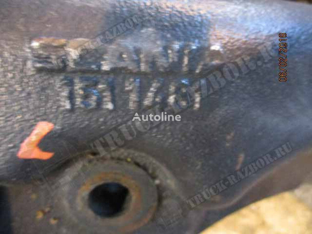 kronshteyn perednego bampera (kronshteyn buksirovochnyy), L fasteners for SCANIA tractor unit
