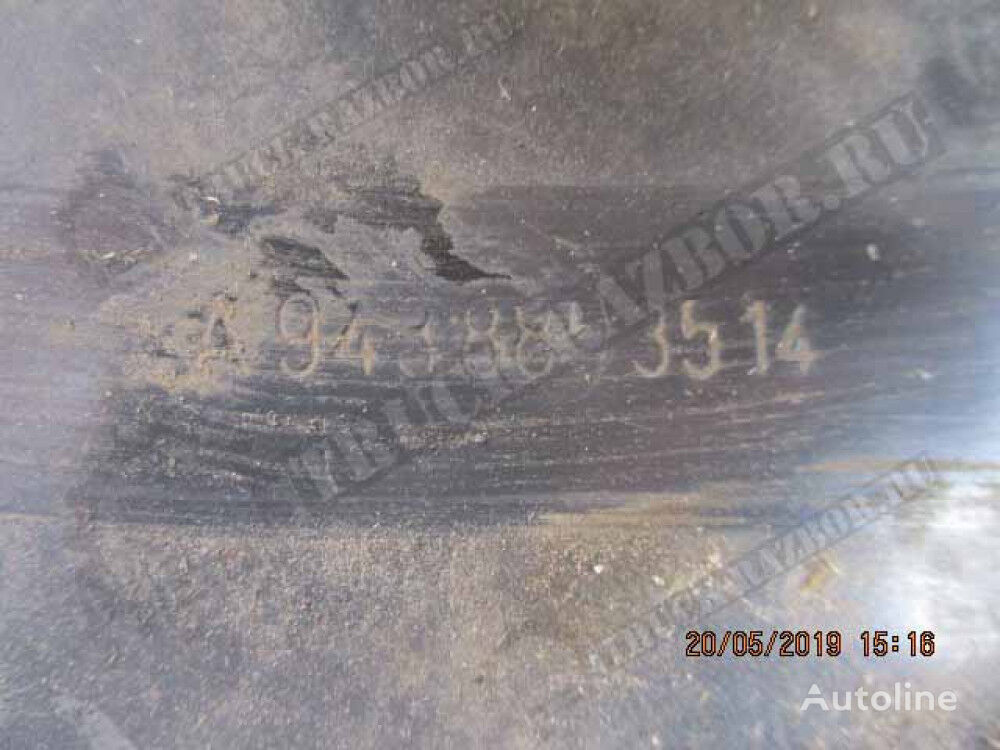 kronshteyn perednego bampera, R fasteners for MERCEDES-BENZ tractor unit