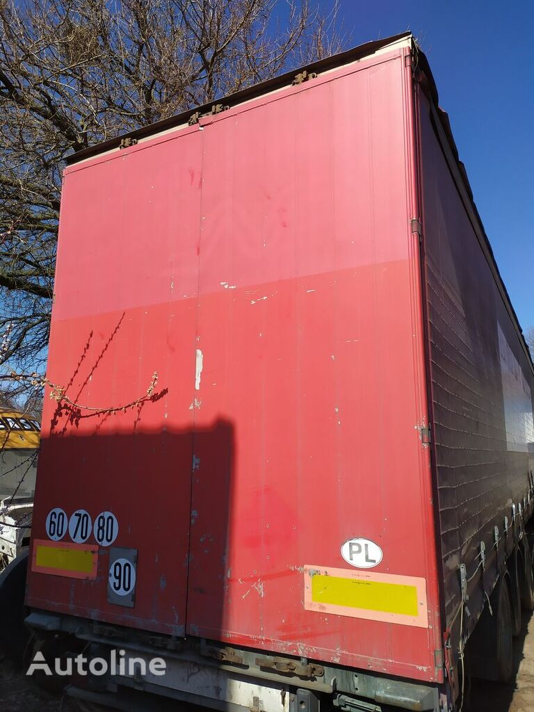 Vorota fasteners for semi-trailer