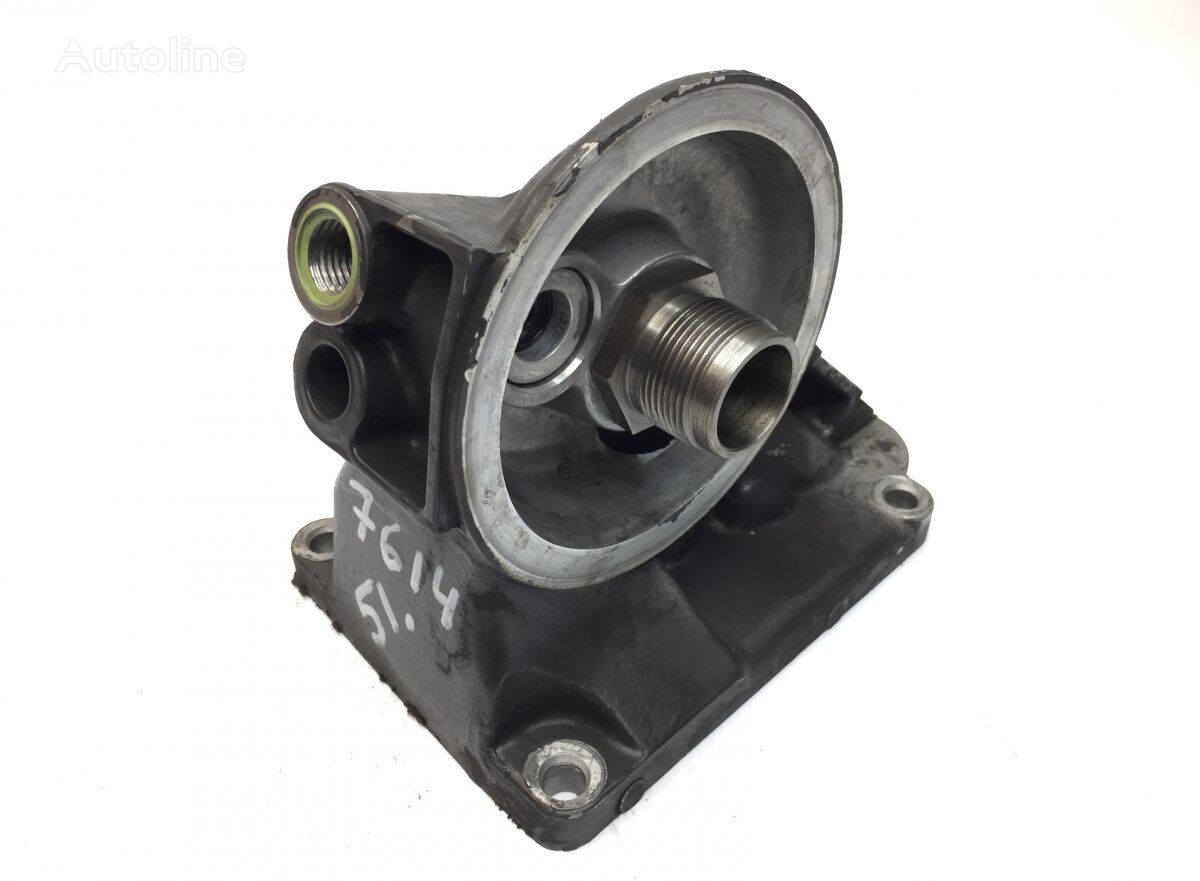Oil filter bracket SCANIA (1502757 1437778) fasteners for SCANIA P G R T-series (2004-) tractor unit