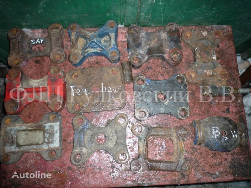 - kronshteyny, bolty, shpilki, gayki i pr. b/u fasteners for semi-trailer