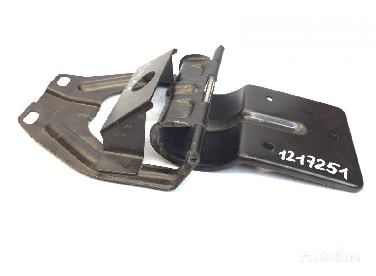 Cabin Storage Compartment Lid Hinge SCANIA (1522294 1396680) fasteners for SCANIA P G R T-series (2004-) tractor unit