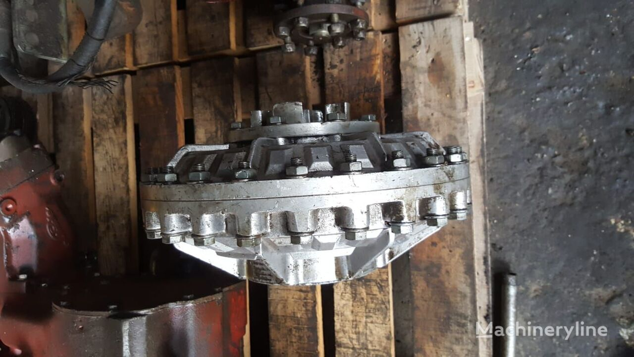 fluid coupling for excavator