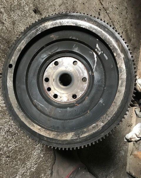 742106M91 flywheel for LANDINI tractor