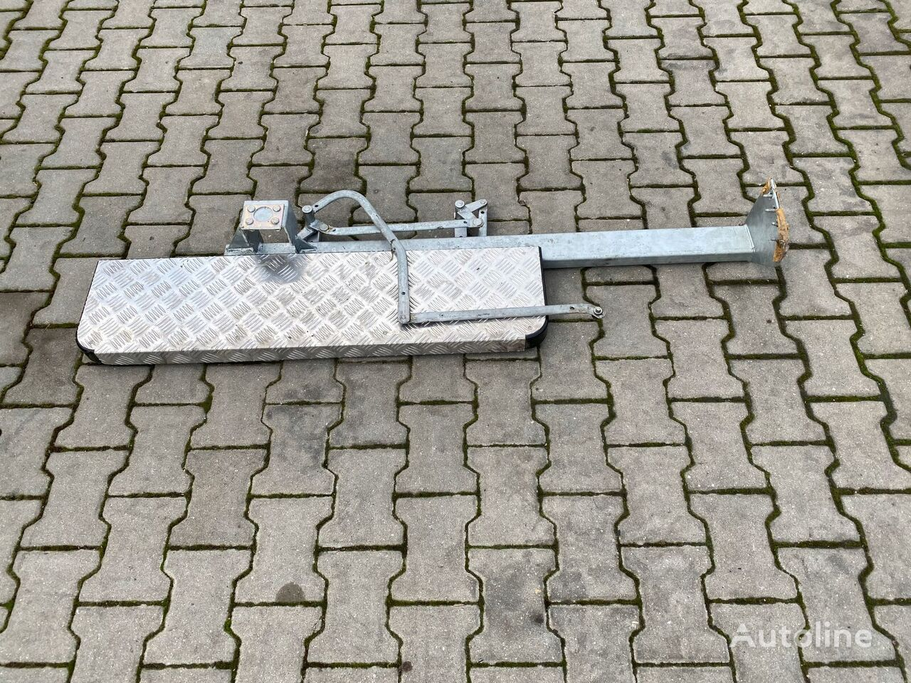 BOCZNY RUCHOMY footboard for FIAT DUCATO, CITROEN, Peugeot BOXER commercial vehicle