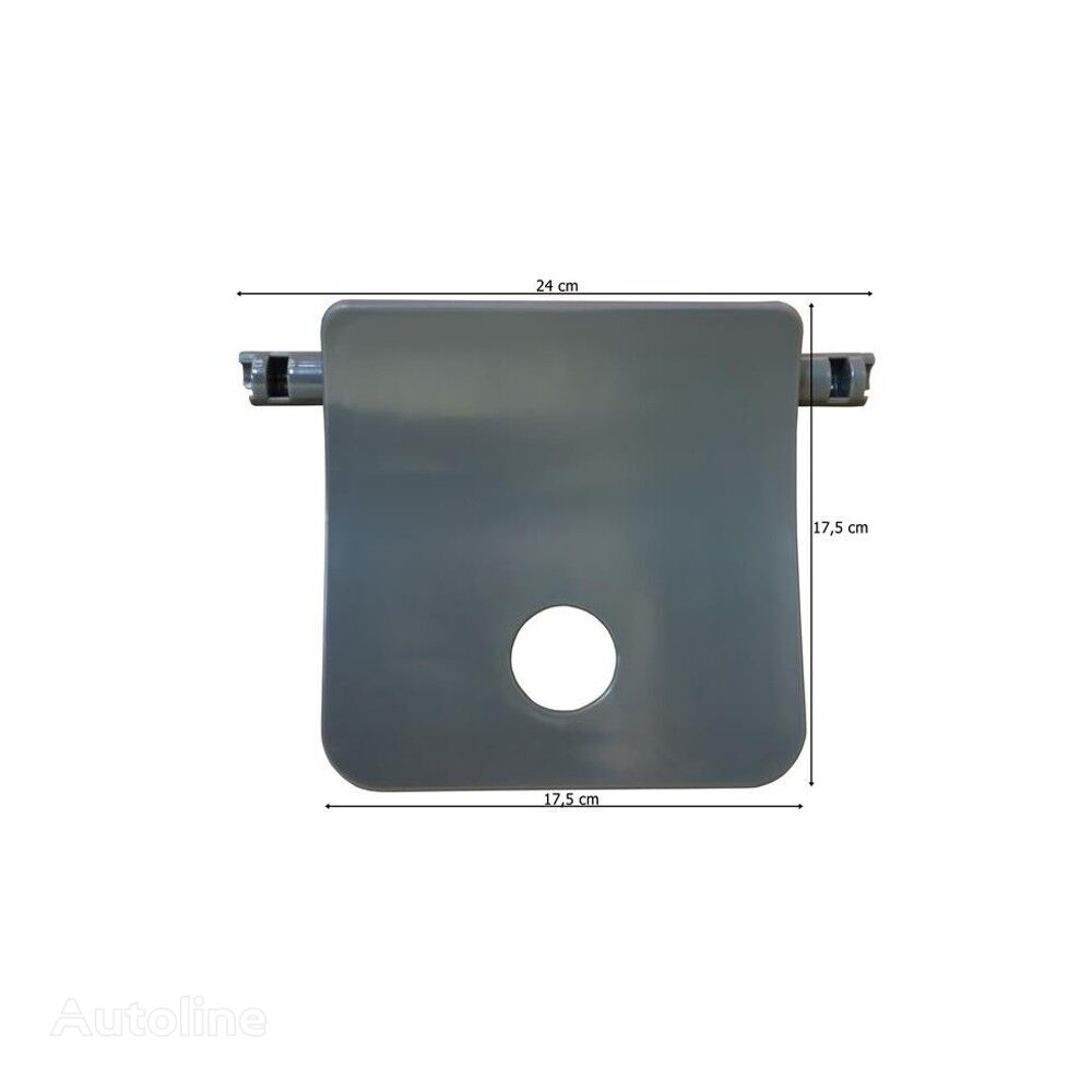 new FOOTSTEP COVER L=R grey footboard for MERCEDES-BENZ ACTROS MP4  truck