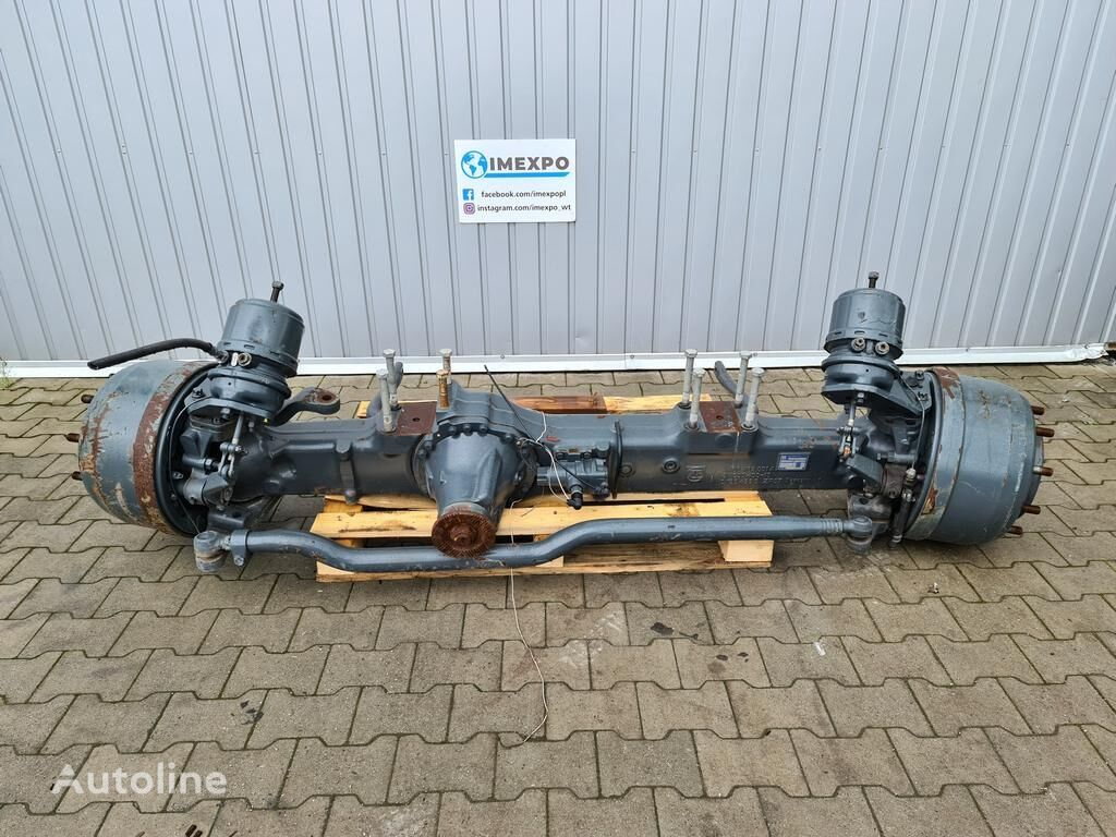 new ZF APL 90 ratio: 6.90 / 4x4 6x6 8x6 STEERING DRIVE AXLE / BRAND NEW front axle for VOLVO RENAULT truck