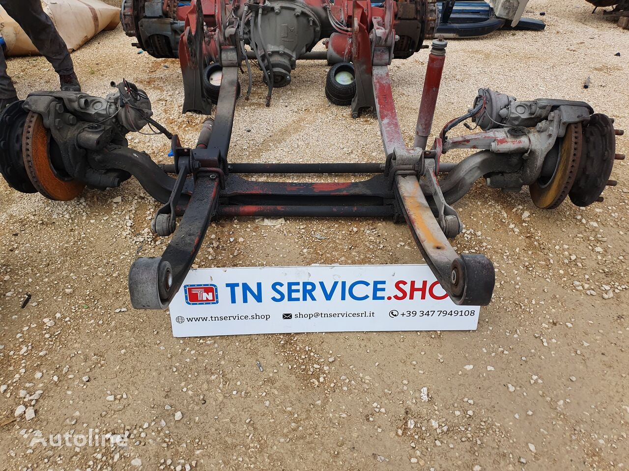 front axle for IVECO Stralis 480 truck