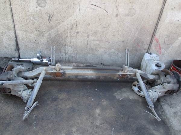 MERCEDES-BENZ VL 2/22 DC-4.1 front axle for truck