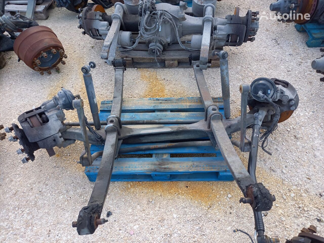 SCANIA front axle for truck