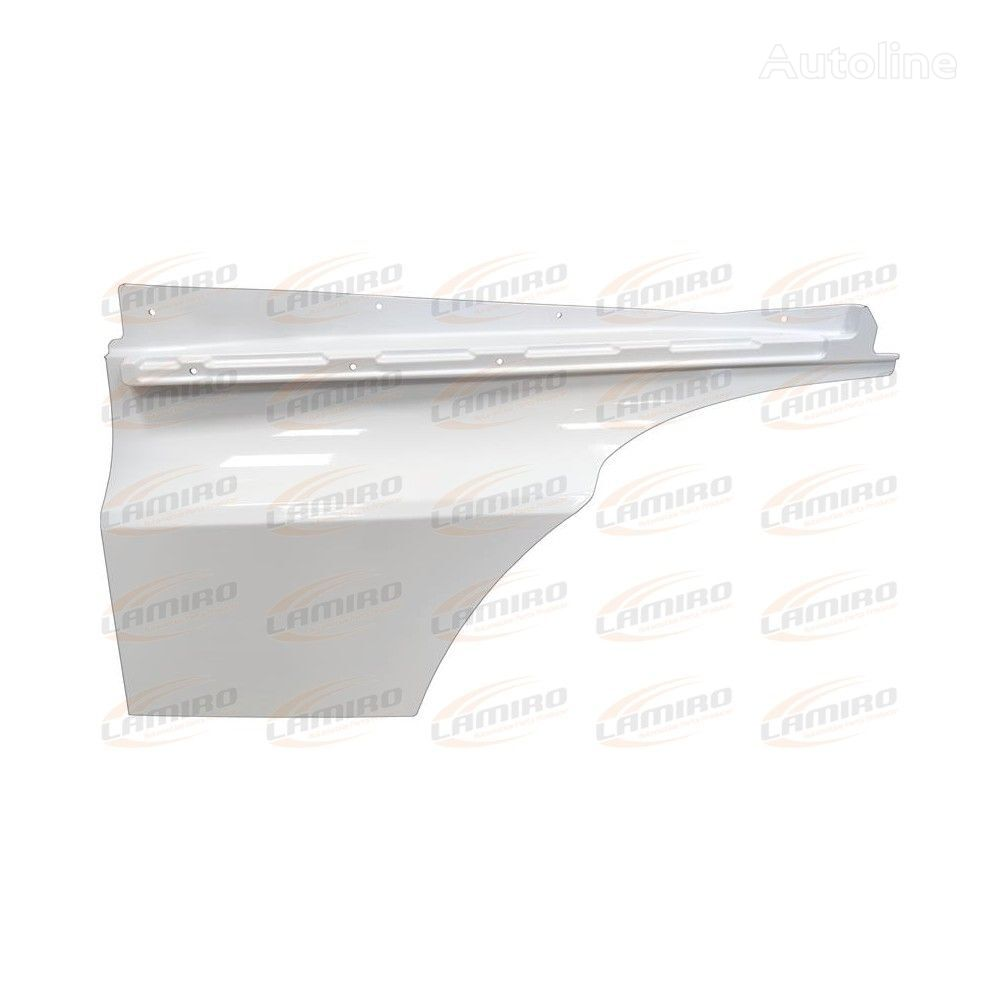 new DOOR EXTENSION LEFT WHITE front fascia for MERCEDES-BENZ ACTROS MP4 CLASSIC SPACE (2012-) truck