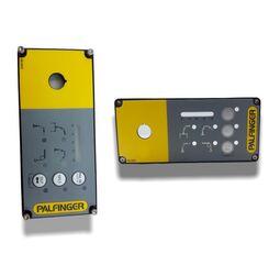 new PALFINGER Tapa con pegatina EEA11521 (EEA 11521) front fascia for loader crane