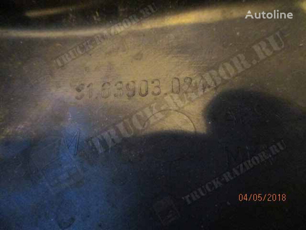 kozhuh sprava (81639030244) front fascia for MAN tractor unit