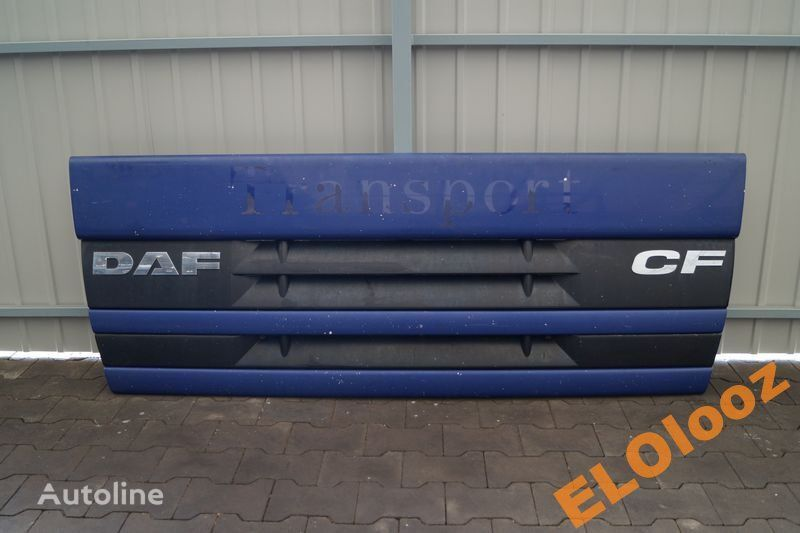 front fascia for DAF MASKA ATRAPA GRILL DAF CF 75 85 ORYGINALNA truck