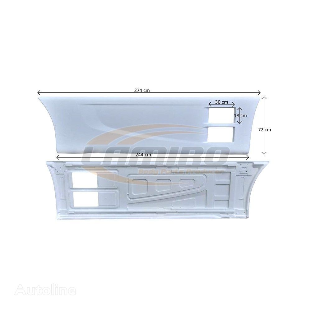 new SIDE FAIRING RIGHT front fascia for IVECO STRALIS AS (ver. III) 2013- Hi-Way truck
