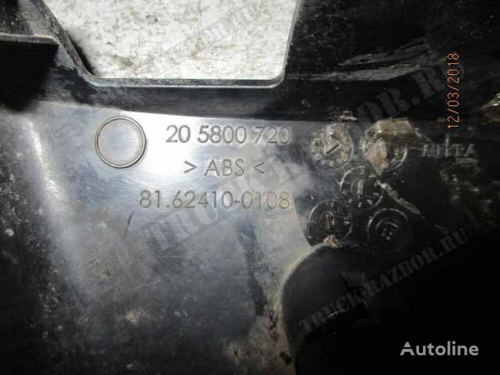 nakladka zerkala, R front fascia for MAN tractor unit