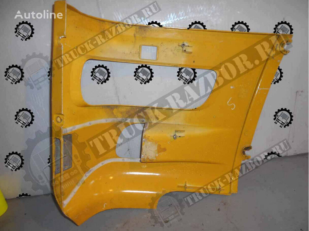 oblicovka fary (zheltyy), R DAF (1398264) front fascia for tractor unit