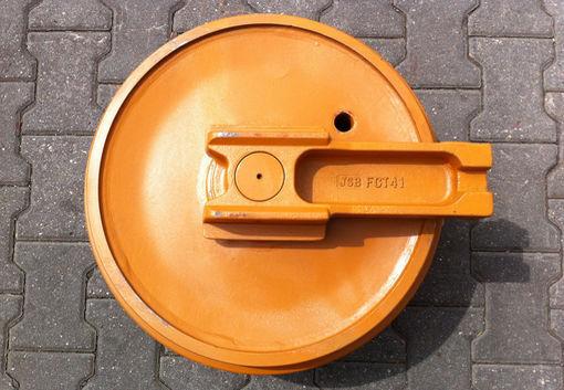new Natyazhnoe koleso - lenivec 304CR, 305, 307/308, 311/312, 320/E200 front idler for CATERPILLAR excavator