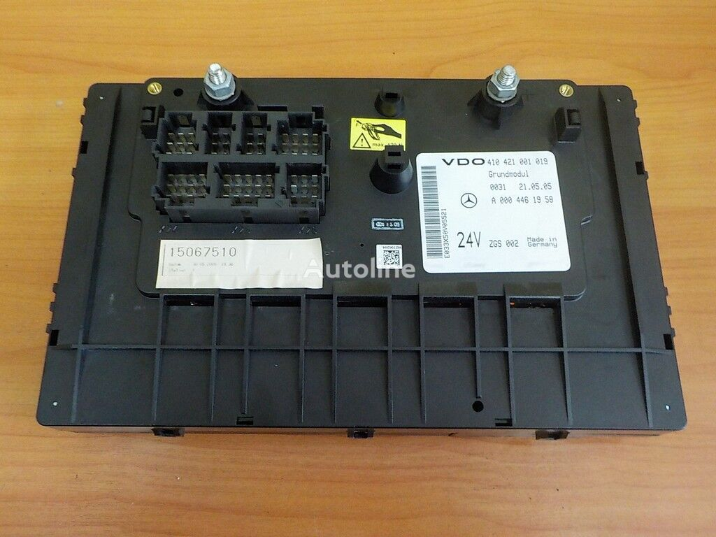 A Blok predohraniteley Grundmodul fuse block for MERCEDES-BENZ tractor unit