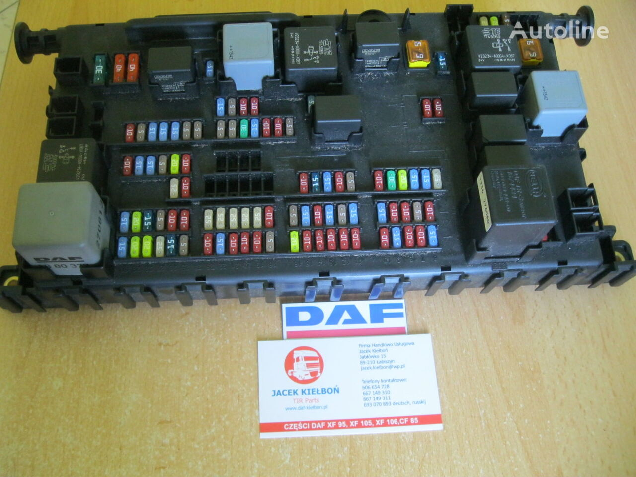 Daf Fuse Blocks For Xf 106 Tractor Unit Sale From Poland Deutsch Box Block