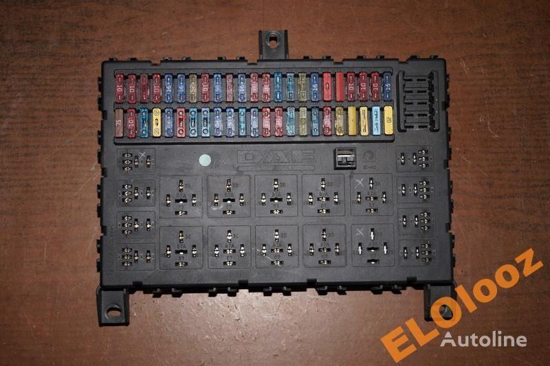 DAF fuse block for DAF SKRZYNKA TABLICA BEZPIECZNIKÓW DAF XF CF 1373830 truck