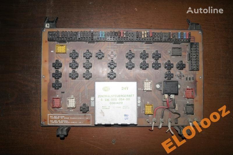 fuse block for DAF KASETA SKRZYNKA TABLICA BEZPIECZNIKÓW DAF 0223698 truck