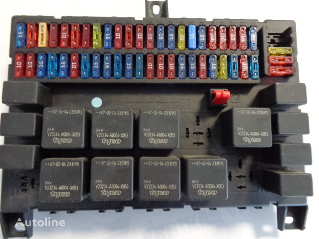 Daf Fuse Relay Protection Box 1674870  1333370  1452112