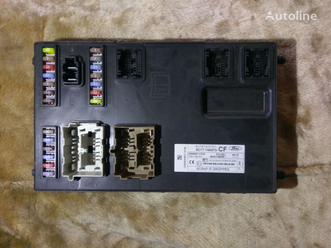 Fuse Box On A Ford Transit Wiring Library In Siemens Vdo Asy 8c1t 14a073 Cf Block For Van