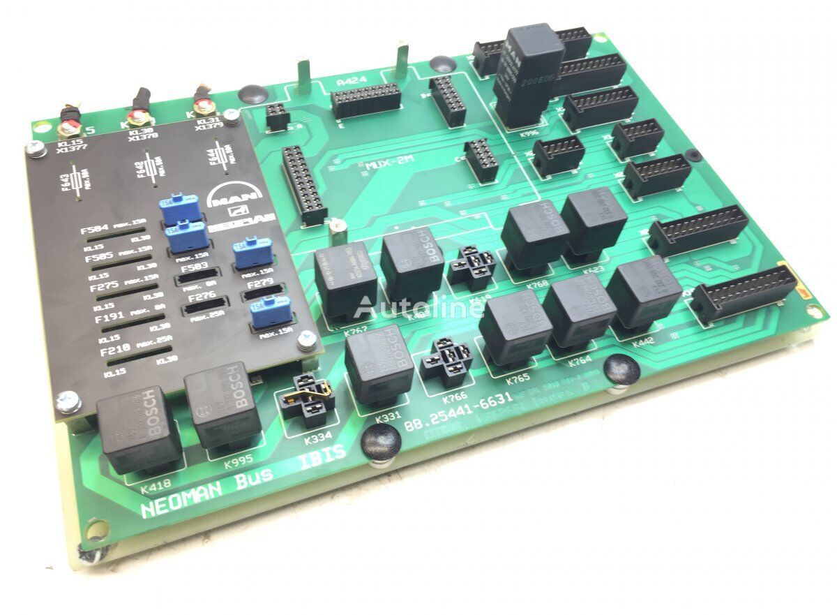 Fuses Circuit Board fuse block for MAN Lions bus (1991-) bus