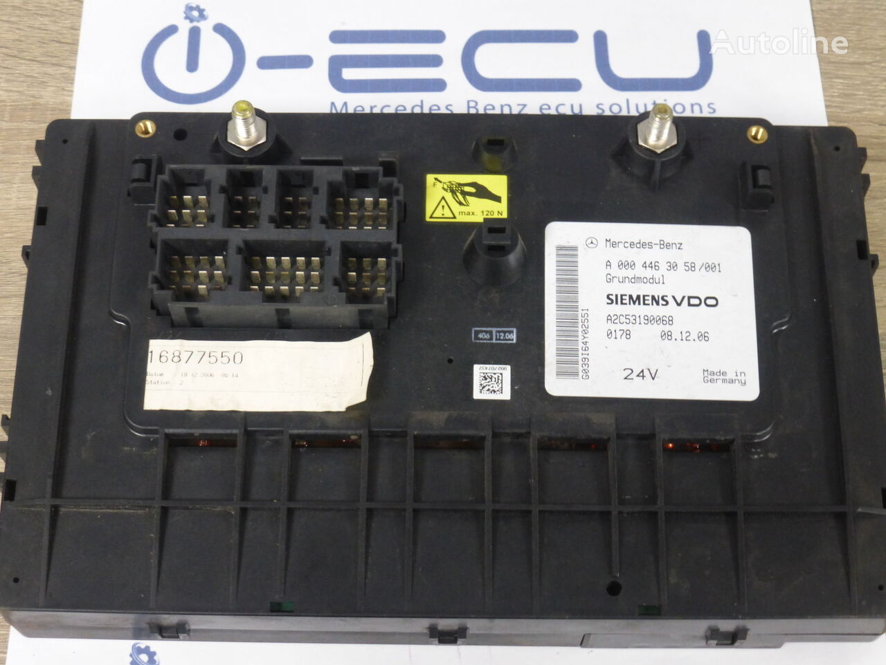 GM ACTROS A 0004463058 (GM A 0004463058) fuse block for MERCEDES-BENZ ACTROS  truck for sale, WU17137Autoline