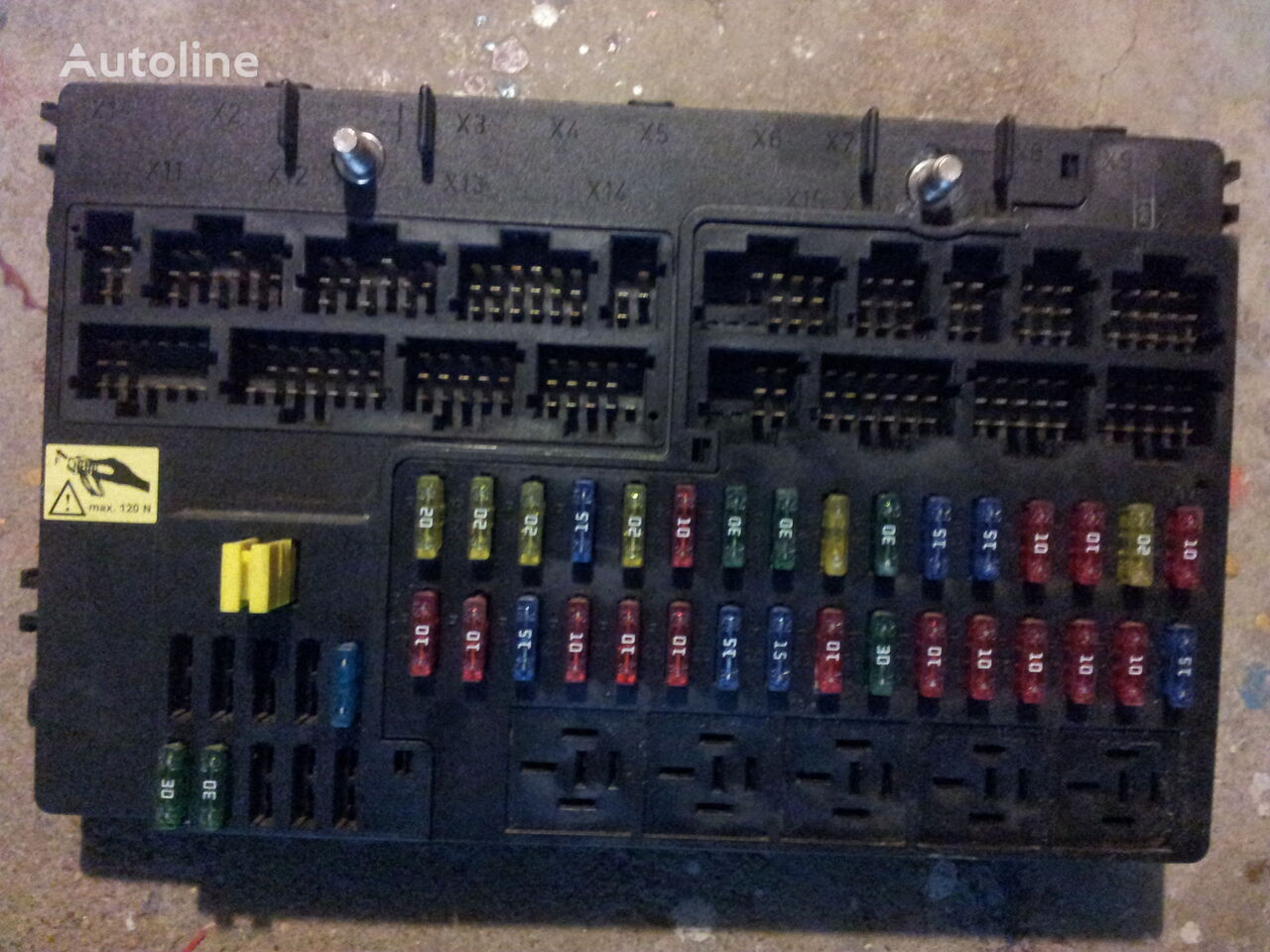 MERCEDES-BENZ Actros MP2, MP3 GM unit, Grundmodul, Fuse box, ...
