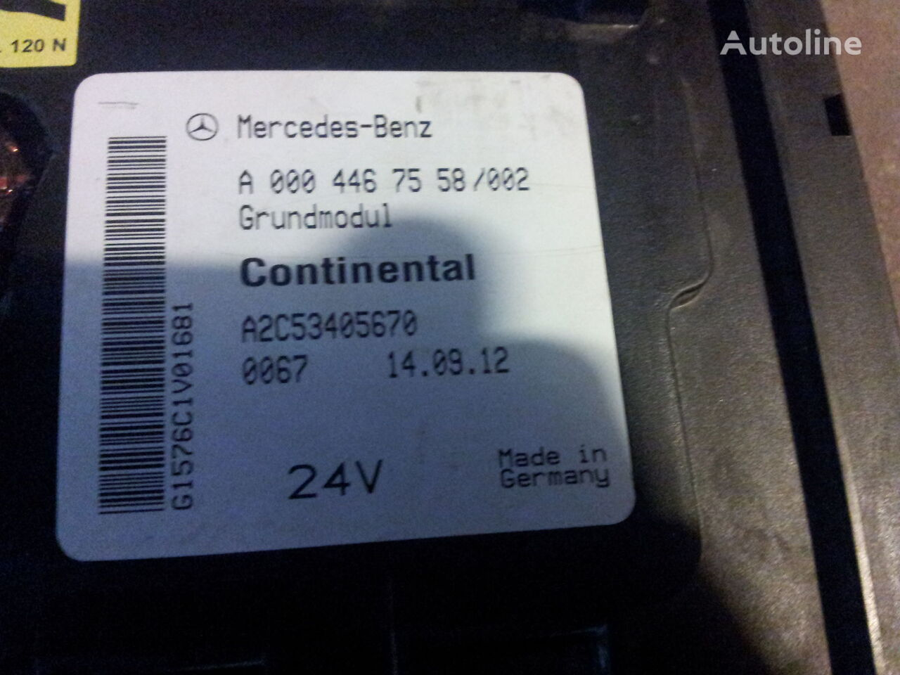 ... central MERCEDES-BENZ Actros MP2, MP3 GM unit, Grundmodul, Fuse box,  central