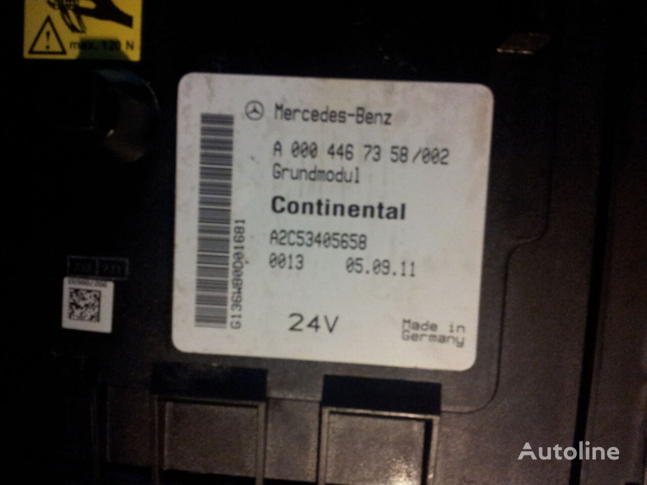 Mercedes Benz Actros Mp2 Mp3 Gm Unit Grundmodul Fuse Box Central 220 Photo Electric Block For Tractor