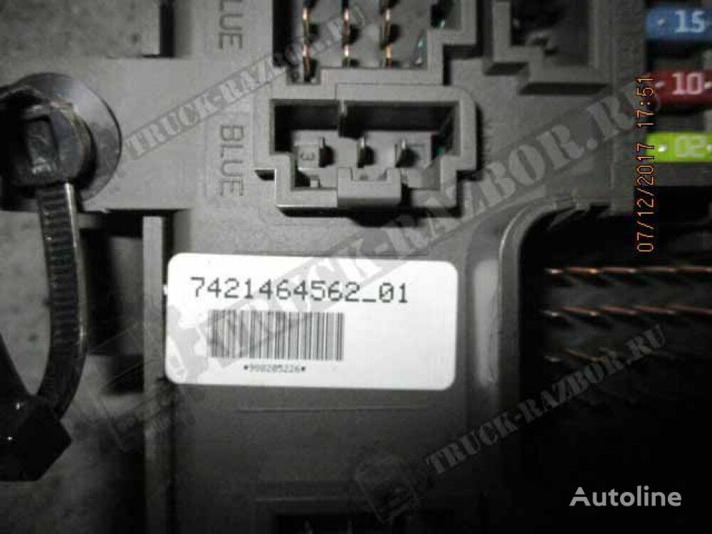 RENAULT fuse block for tractor unit