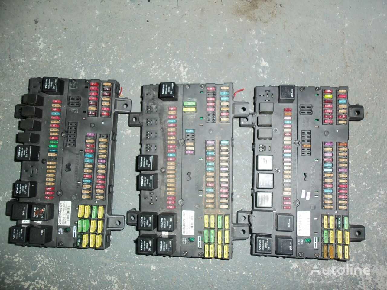 VOLVO FH13 fuse and relay center, central electrical box 20568055, 21732199 fuse block for VOLVO FH13 tractor unit