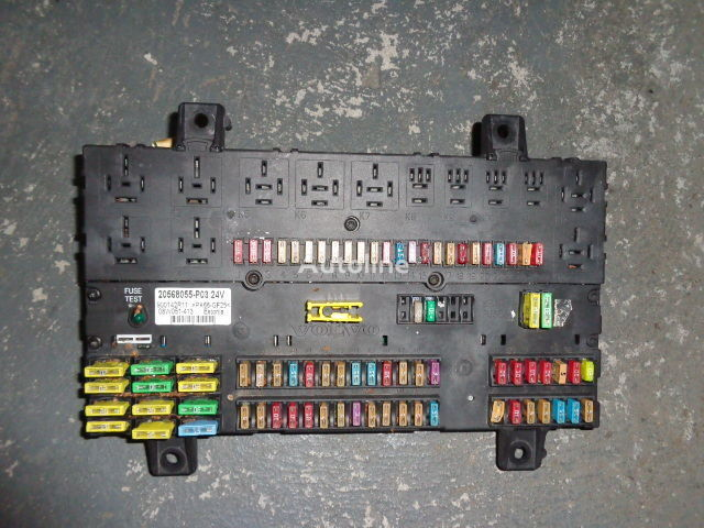 Volvo fuse and relay center central electrical box