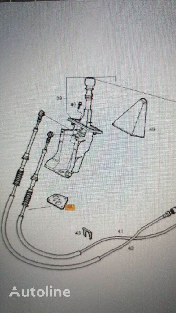 IVECO (504066520) gear shift cable for IVECO Eurocargo truck