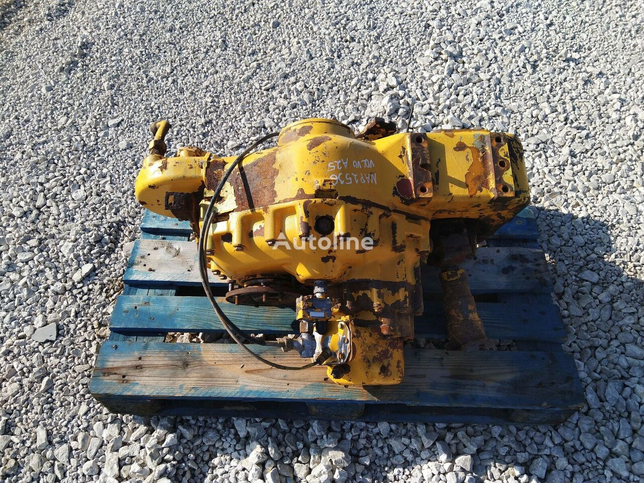 gearbox for VOLVO A25  articulated dump truck
