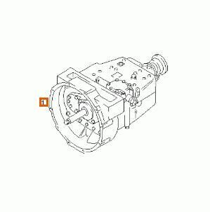 gearbox for MAN L2000 8.103-8.224 EUROI/II Chasis 8.163 F / LC E 2 [4,6 Ltr. - 114 kW Diesel] truck